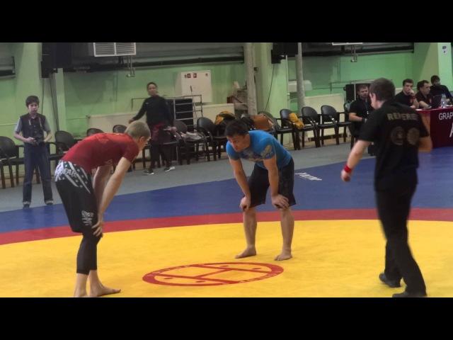 ЧР по Грепплингу UWW 2015 66 кг 1 8 финала Виноградов Юра Магомедов Руслан