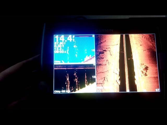 Garmin Striker 7SV видео обзор меню эхолота