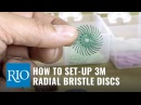 How to Set-up 3M Radial Bristle Discs