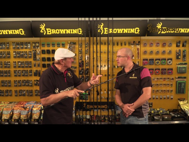 Browning Sphere Feeder Rods - Bob and Steve introduce the best feeder rods available.
