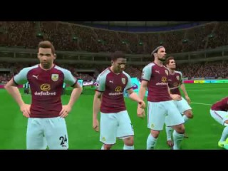 Burnley vs Arsenal / Full Match & Goals 2017 / Gameplay PES