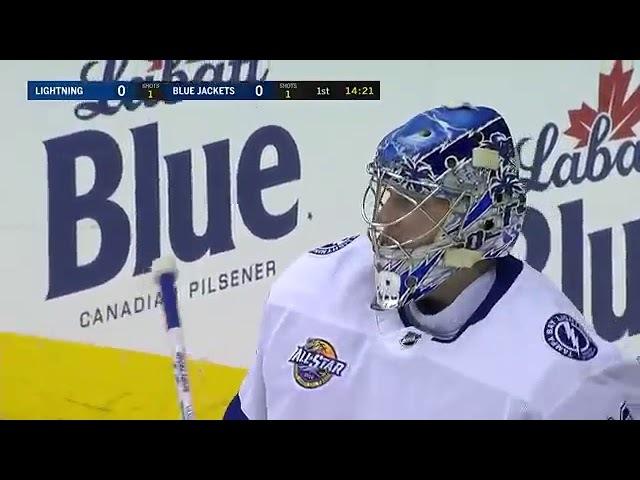 НХЛ 17 18 Сэйв Василевского 31 12 17