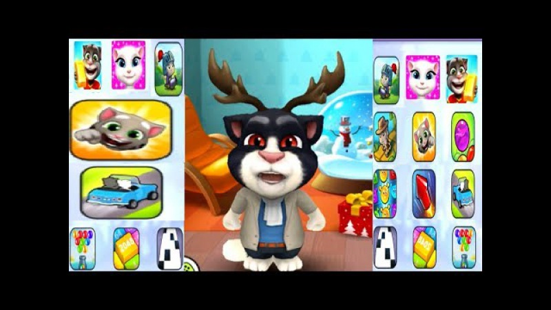 NEW Of My Talking Tom Great Makeover Gameplay 2018 HD And All Popular Nursery Rhymes For Kids