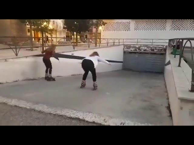 A decida de patins da morte certa