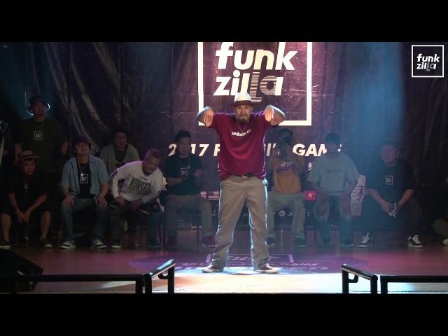 POPPING PUBLIC SIDE Judge Solo - Kid boogie (USA) | 2017 FUNKZILLA GAME WORLD FINAL | Danceproject.info