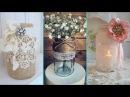 ❤DIY Rustic Shabby Chic style Mason Jar decor ideas❤| Home decor Interior design | Flamingo Mango