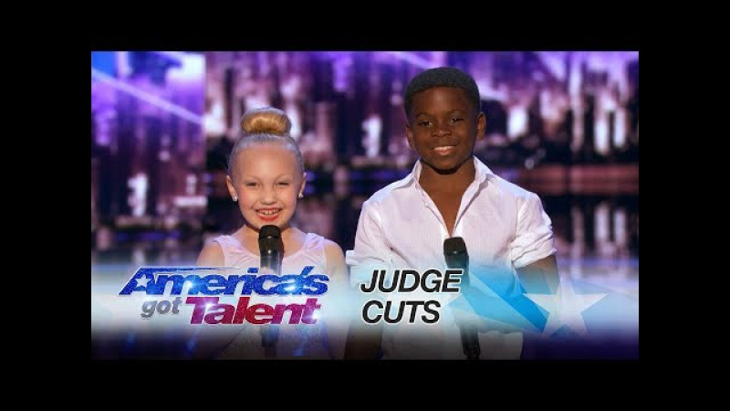 Artyon and Paige: Young Duo Slays Dance Routine - America's Got Talent 2017