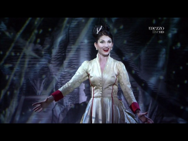 В. А. Моцарт. Опера «Волшебная флейта». Ария Царицы ночи «Der Hölle Rache kocht in meinem Herzen»