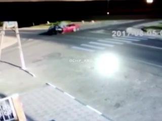 Авария в Тбилисской, пьяные подростки устроили ДТП на перекрестке