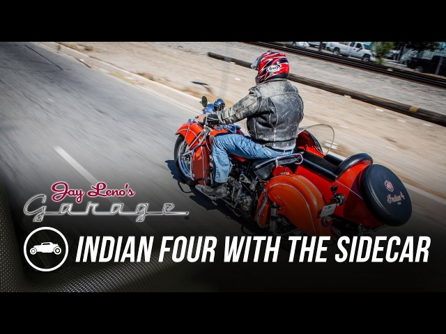 1940 Indian Four with the Sidecar - Jay Lenos Garage