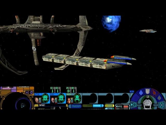 Star Trek: Тень Доминиона - прохождение - миссия 1-2 - Просчитанный ход