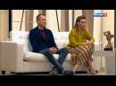Евгений Попов и Ольга Скабеева в программе Судьба человека