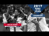 2017 Revolution Goal of the Year Champion Kelyn Rowe at Montreal Impact