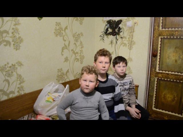 Помощь жительницы Италии семье погибшего защитника