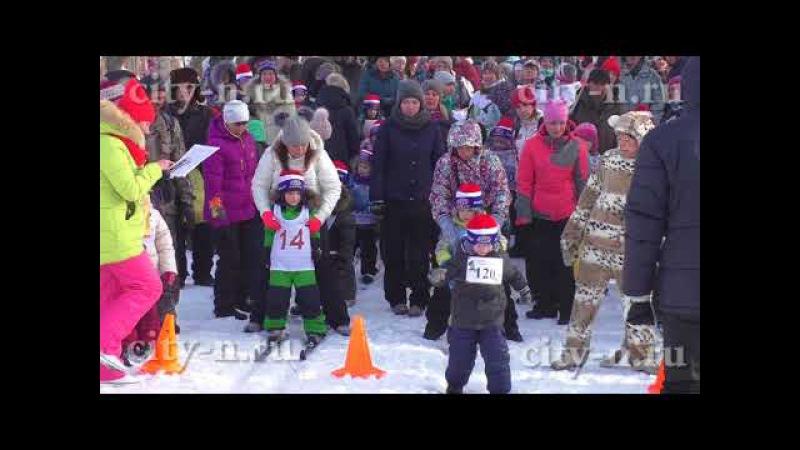 Сергей Кузнецов соревновался в гонках Лыжня России