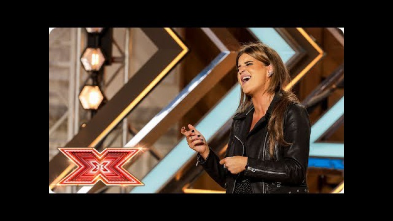 Nicole Caldwell takes on Prince's Purple Rain | Auditions Week 1 | The X Factor 2017