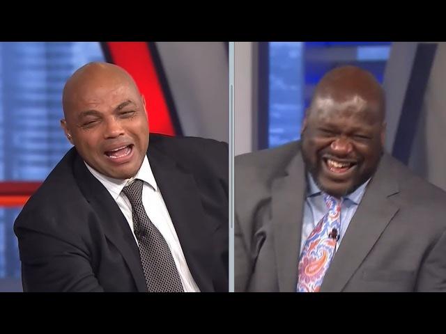 Inside the NBA: Shaq Chuck Can't Stop Laughing | January 15, 2018 | 2017-18 NBA Season