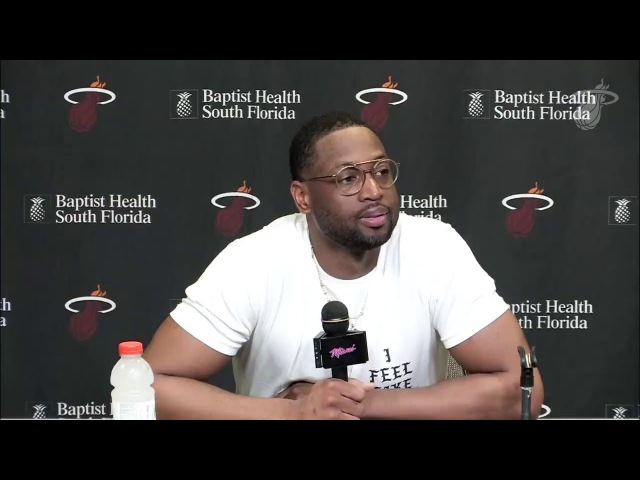 Dwyane Wade On Getting Traded Back to Miami Heat - Full Press Conference | 2018 NBA Trade Deadline