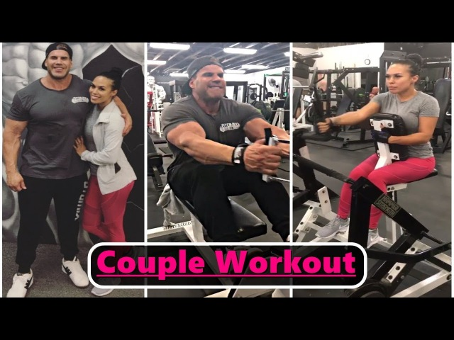 JAY CUTLER His NEW GIRLFRIEND - Back Workout