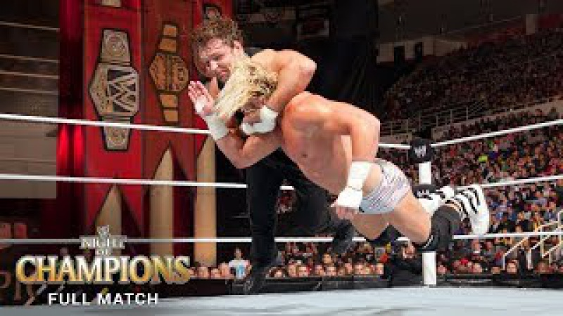 FULL MATCH - Dean Ambrose vs. Dolph Ziggler - U.S. Title Match: Night of Champions 201