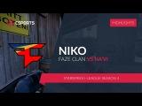 FAZE.NIKO vs. NA'VI @StarSeries i-League Season 4