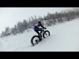 Vee Tire Snowshoe 2XL 5.6'' prototypes in knee deep powder. Part 8