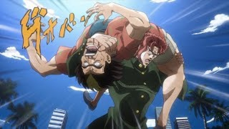 Gachimuchi is a JoJo reference