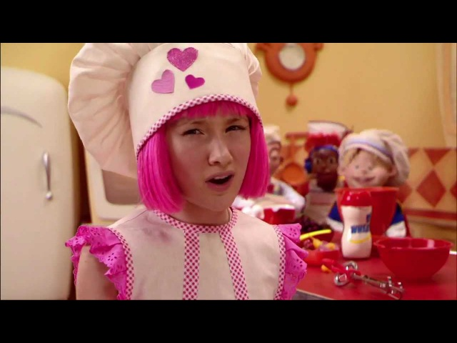 LazyTown Song - Cooking By The Book