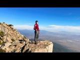 Fist push ups at Cucamonga Peak 8859 ft(2700 m)