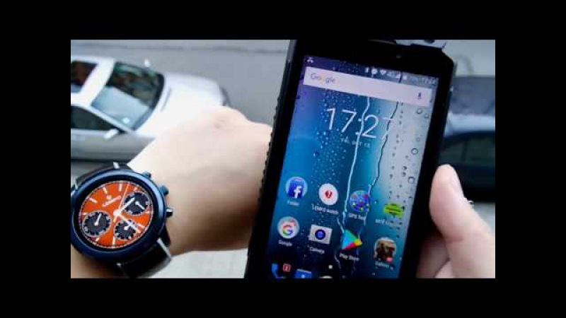 LEMFO LEM5 Pro Smart Watch Phone Android 5.1 2GB 16GB Поддержка SIM-карты GPS WiFi