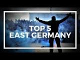 TOP 5 ULTRAS - EAST GERMANY OSTDEUTSCHLAND ULTRAS