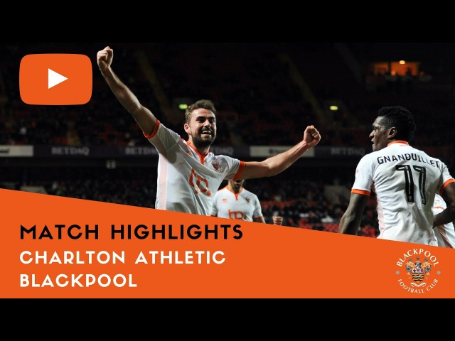 Match Highlights | Charlton Athletic 1 Blackpool 1