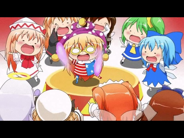 Touhou Project - Fairies Party
