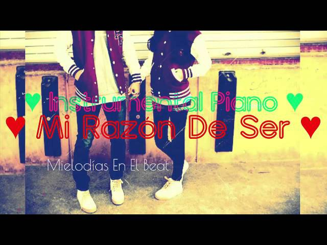 Mi Razón De Ser - Instrumental Romantico de Rap echa por Mielodias