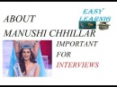 MISS WORLD 2017 MANUSHI CHHILLAR | CURRENT AFFAIRS | ALL UPCOMING EXAM'S Information | Part - 1