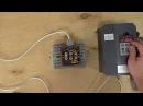 Дешевый частотный преобразователь 1500 ватт ZW AT1 220в выход 3 фазы