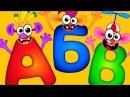 Супер Азбука для детей Буквы Алфавит для малышей Развивающие мультфильмы
