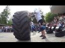 Egor Kaiju Makarov VS Sergey Belousov. Tire flip 280 kg 6.5 reps loglift 117
