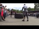 Artem Kobanov VS Ruslan Pustovoy. Tire flip 280 kg 6.5 reps loglift 117