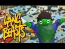 Gang Beasts online дед угарает на крыше ганг бест