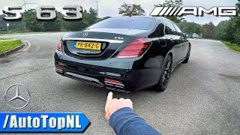 2018 Mercedes AMG S63 4Matic REVIEW POV Test Drive by AutoTopNL