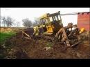 Трактора Т-170, Т-130 в грязи и не только! Каждый гусеничный трактор мечтает стать та...