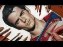 Speed Drawing Henry Cavill's Superman Jasmina Susak