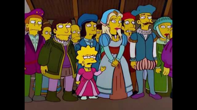 The Simpsons History Channel Hamlet