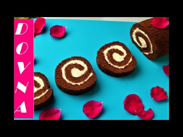 шоколадный рулет лучший рецепт от Dovna Enterprises