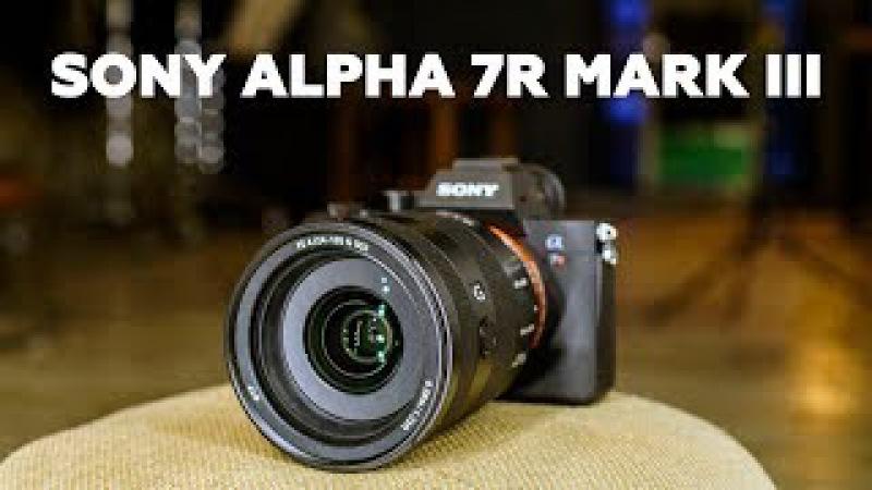 Sony Alpha 7R MARK III. Эксклюзивный обзор от экспертов PROPHOTOS.