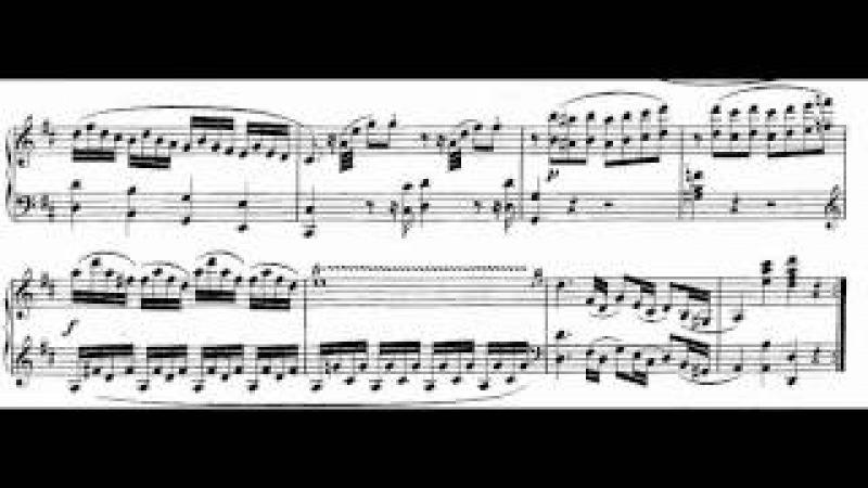 Mozart Piano Sonata No.6 KV 284 I,II.mpg 樂譜版本影片