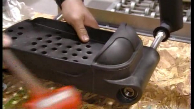 How Its Made S14E02 Western Revolver Replicas - Arc Trainers - Used-Oil Furnaces - Vegetable Peelers and Pizza Cutters PDTV XVID