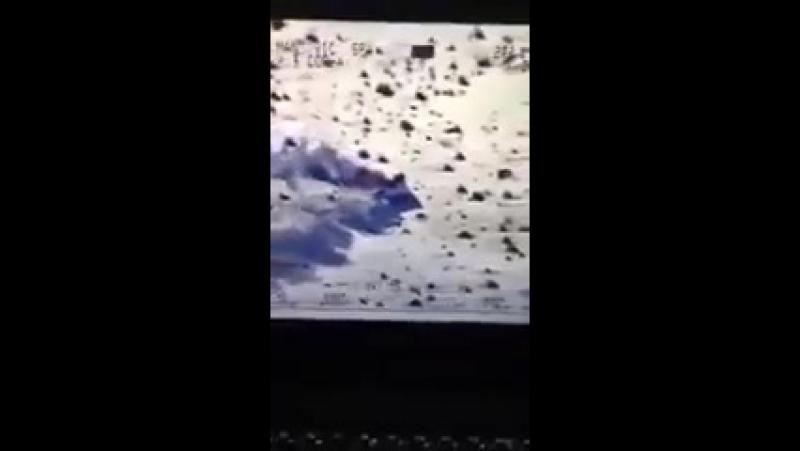 Расстрел шахид мобиль из Вертушки