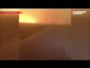 кадры произведенного 14 июня запуска российской ракеты-носителя Союз с космодрома Байконур (Казахстан).